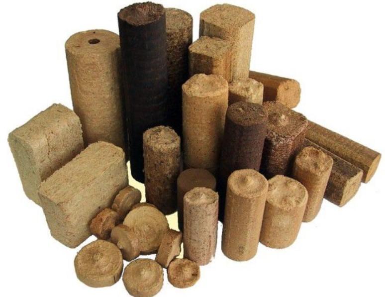 Типы древесных брикетов и их теплотворность